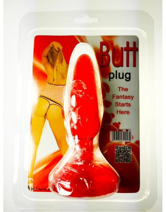 BUTT Plug Red 1