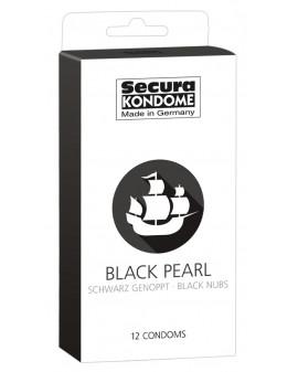Prezerwatywy-Secura Black...