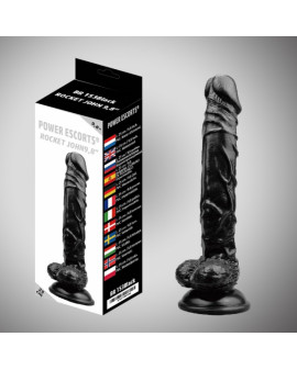 Rocket john black dildo 9,8...