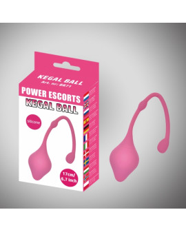 Kegal ball pink silicone 17...