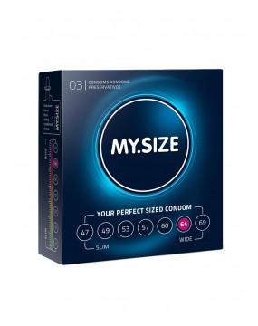 Prezerwatywy-MY.SIZE 64 mm 3er