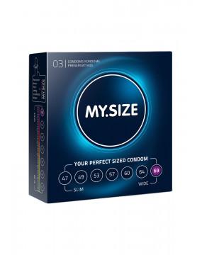 Prezerwatywy-MY.SIZE 69 mm 3er
