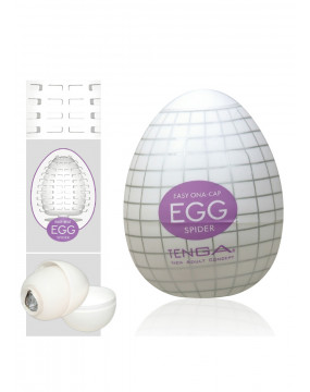 Masturbator-Egg Spider Single