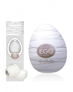 Masturbator-Egg Silky Single