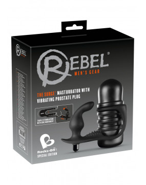 Plug/vibr-Rebel The Surge Blac