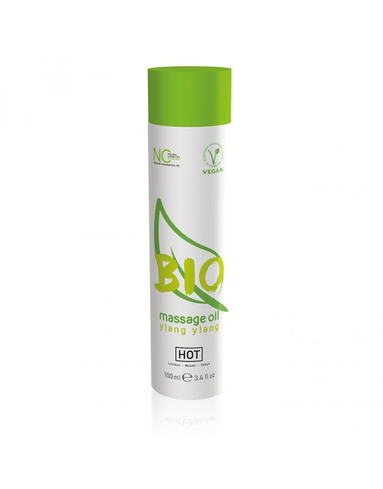 HOT BIO Massage oil ylang...