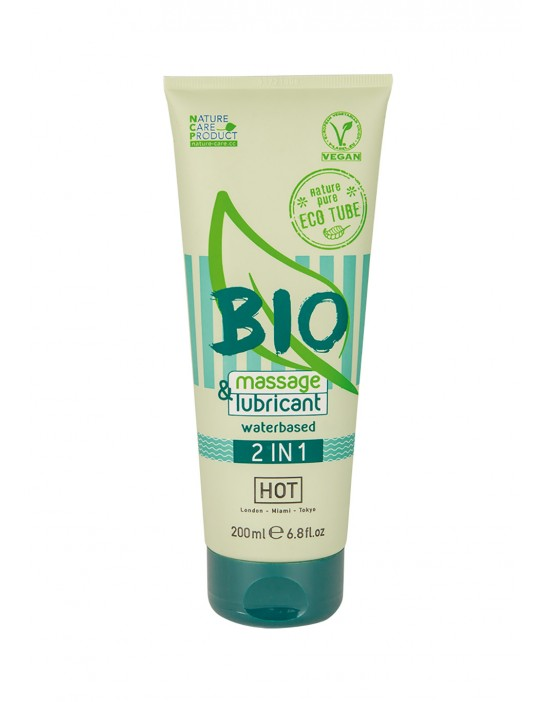 HOT BIO massage & lubricant...
