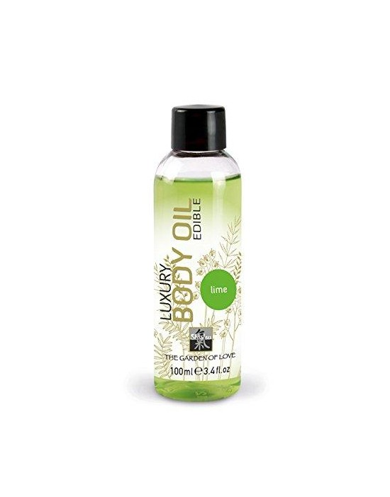 luxury body oil - lime 100 ml