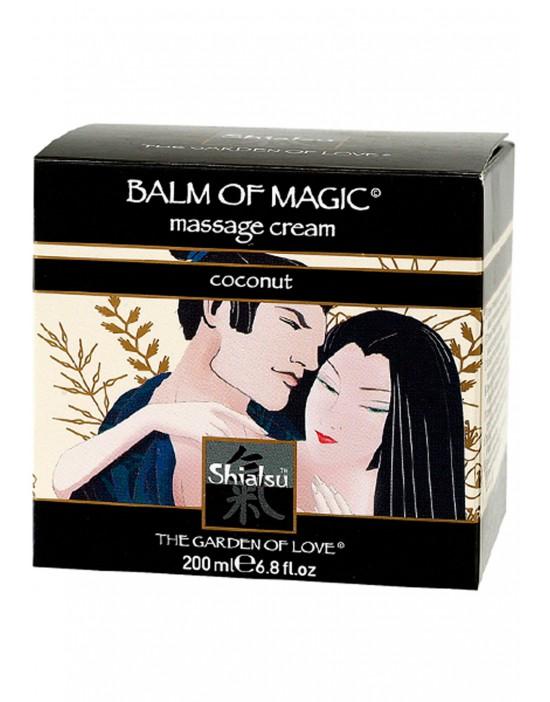 massage cream coconut