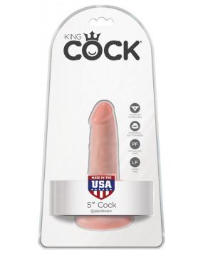 King Cock 5 inch Flesh