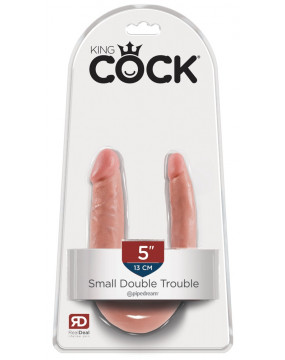 King Cock Small Double Trouble