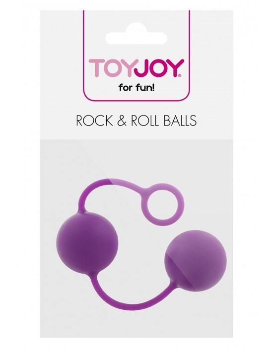 ROCK & ROLL BALLS PURPLE