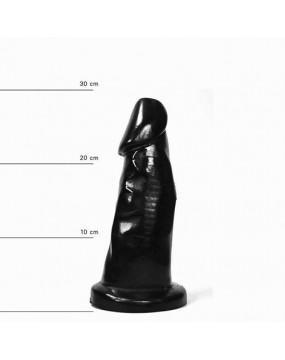 Czarne Dildo 29 cm