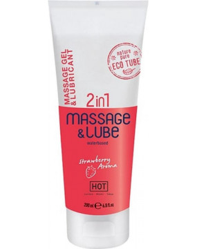 Żel - HOT Massage & Glide...