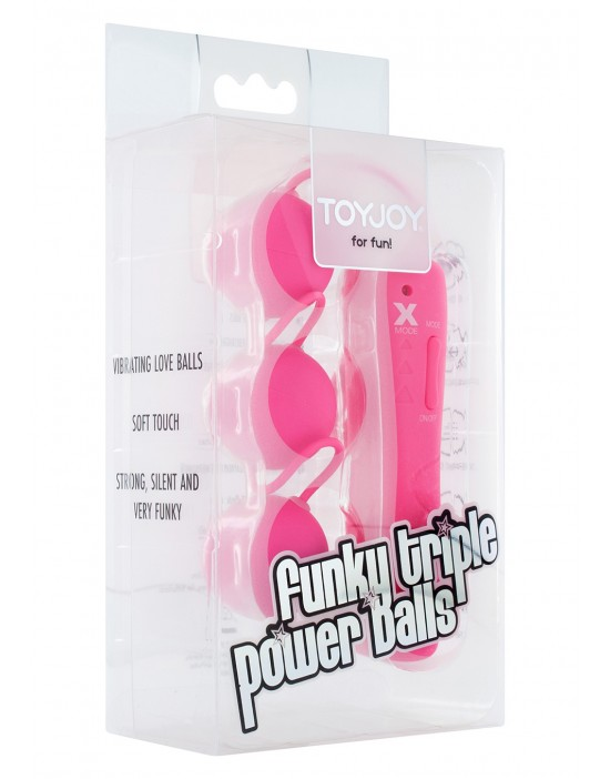 FUNKY TRIPLE POWER BALLS PINK