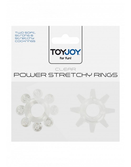POWER STRETCHY RINGS CLEAR...