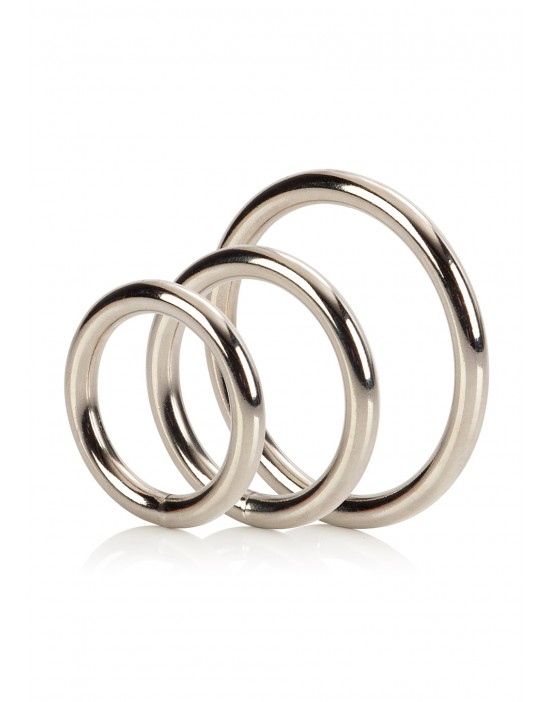 SILVER RING 3 PIECE SET