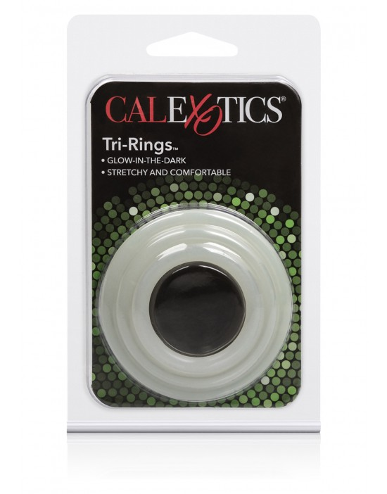 TRI-RINGS GLOW IN THE DARK