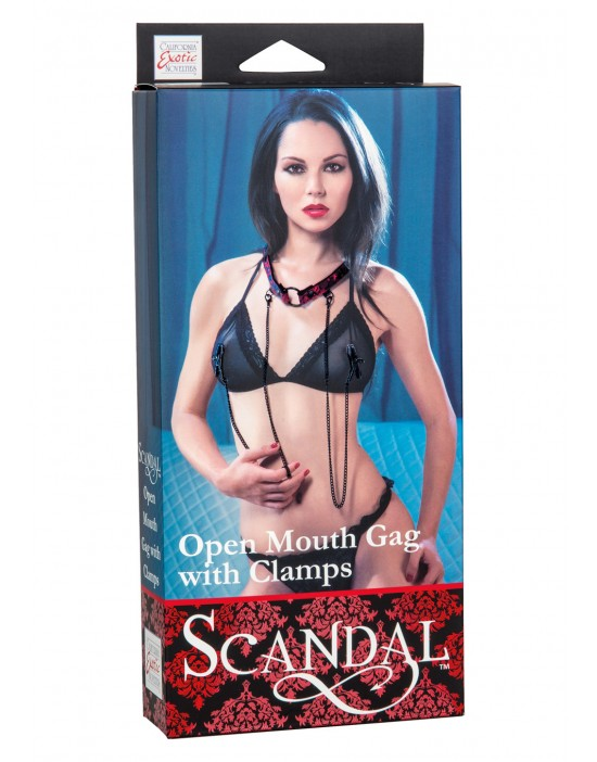 SCANDAL OPEN MOUTH GAG WITH...