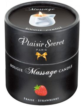 Massage Candle Strawberry 80ml