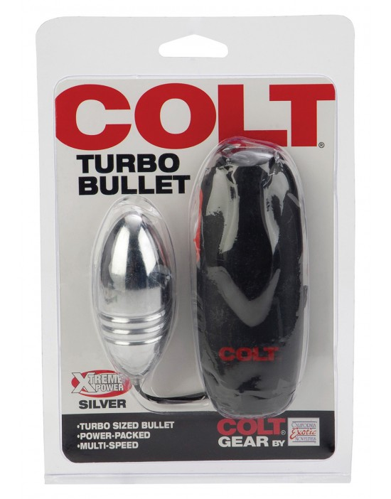 COLT TURBO BULLET SILVER