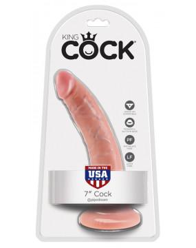 King Cock 7 inch Flesh