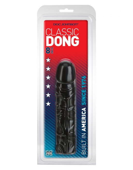 CLASSIC DONG - 8 INCH BLACK