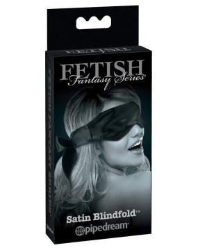 FFSLE Satin Blindfold Black
