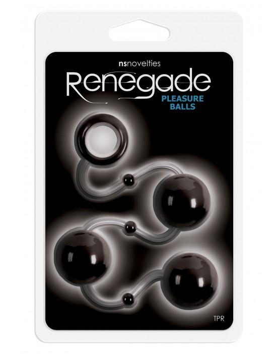 RENEGADE PLEASURE BALLS BLACK
