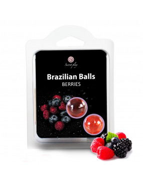 SET 2 BRAZILIAN BALLS BERRIES