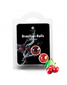 SET 2 BRAZILIAN BALLS CHERRY