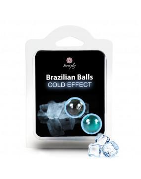 SET 2 BRAZILIAN BALLS COLD...