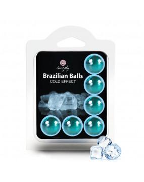 SET 6 BRAZILIAN BALLS COLD...
