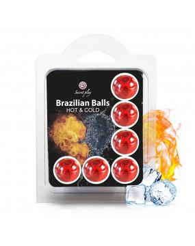SET 6 BRAZILIAN BALLS HOT &...