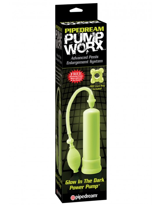 PW GLOW IN THE DARK POWER PUMP