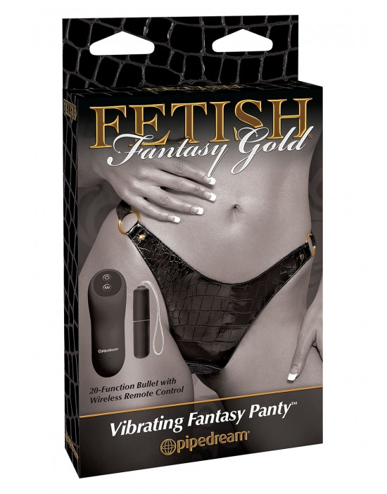 FF GOLD VIBRATING PANTIES