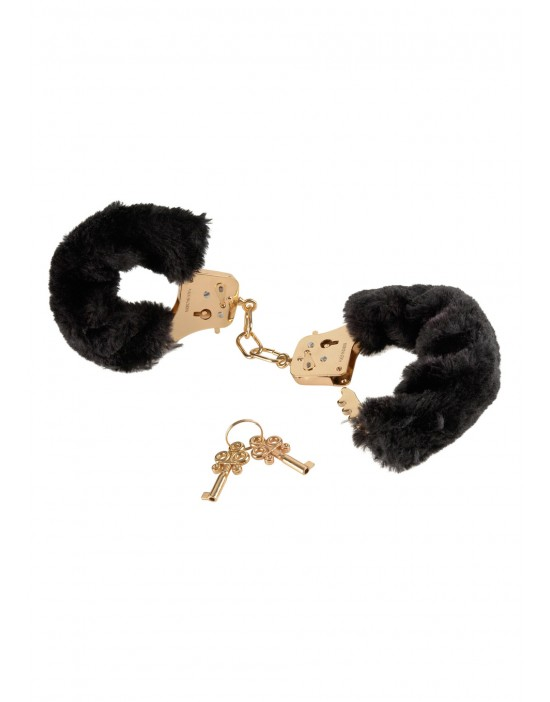 FF GOLD DELUXE FURRY CUFFS