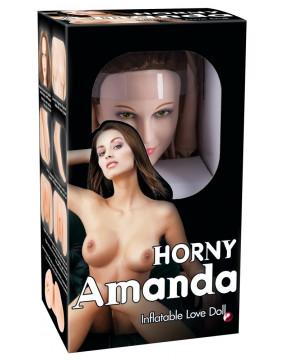 Horny Amanda Inflatable Sex Do