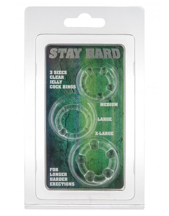 STAY HARD - THREE RINGS -...