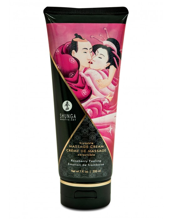 MASSAGE CREAM RASPBERRY 20O ML