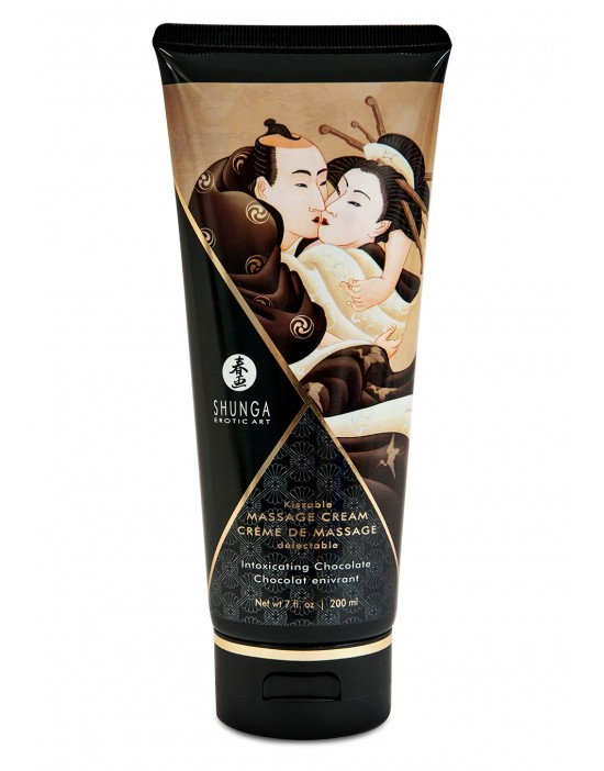 MASSAGE CREAM CHOCOLATE 200 ML