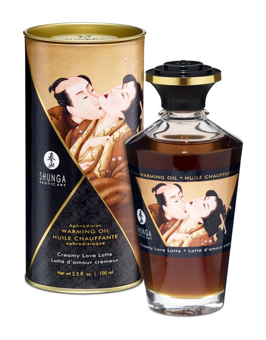 WARMING OIL CREAMY LOVE...