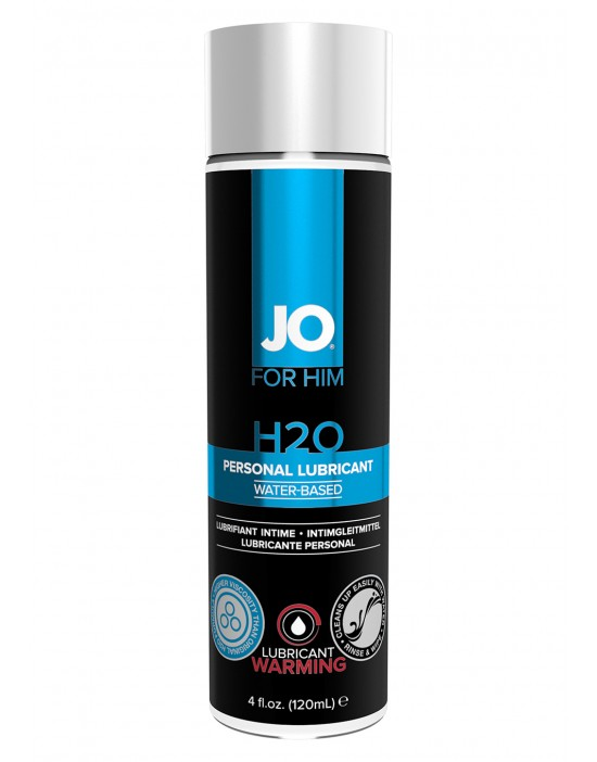 JO FOR MEN H2O LUBE WARM...