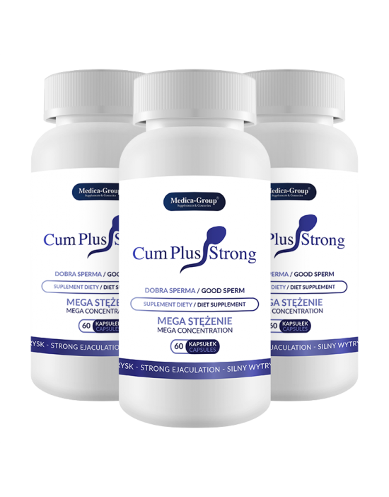 Cum Plus Strong - 60 caps
