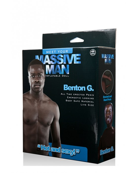 MASSIVE MAN BENTON G. LOVE...