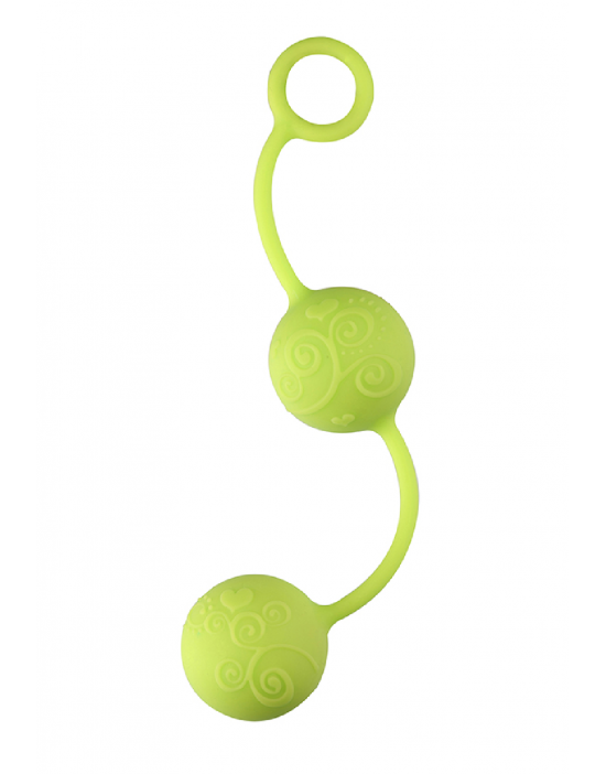 NEON PLEASURE BALLS GREEN