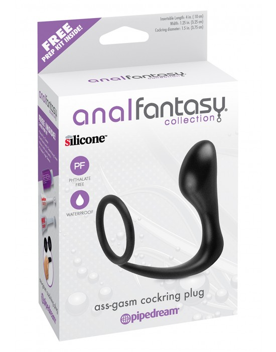 ASS-GASM COCKRING PLUG...