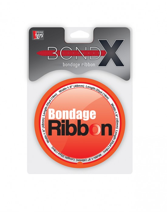 BONDX BONDAGE RIBBON RED