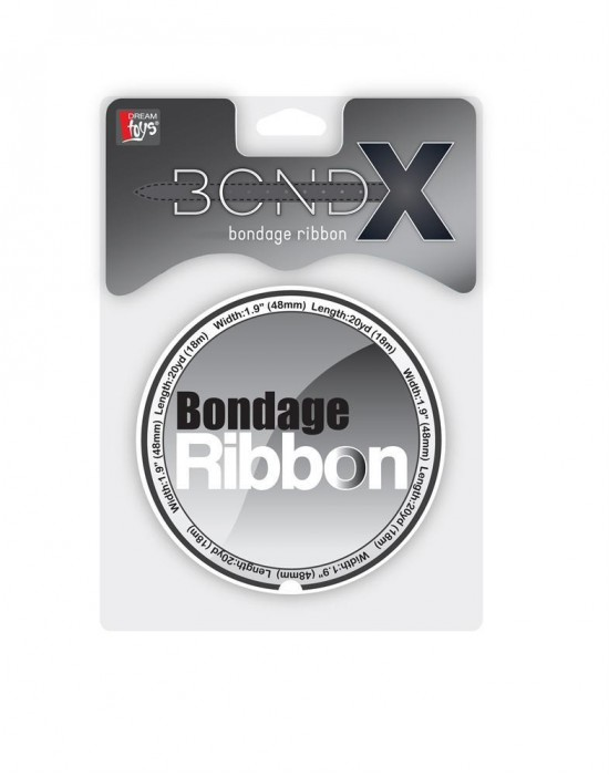 BONDX BONDAGE RIBBON WHITE