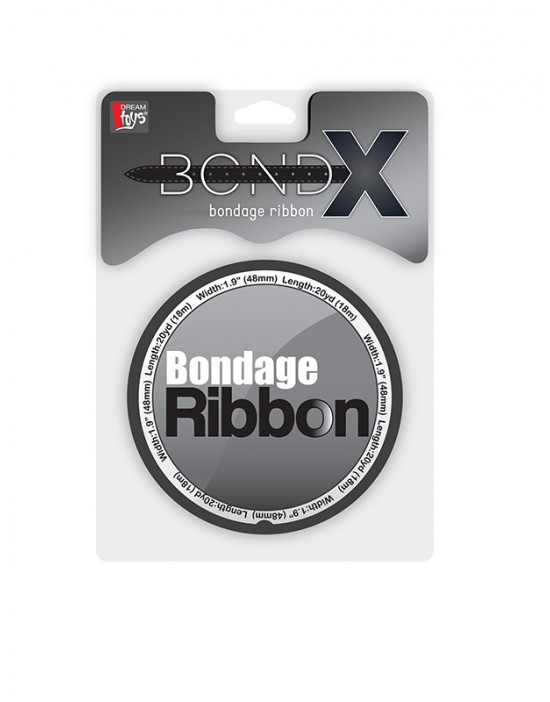 BONDX BONDAGE RIBBON BLACK